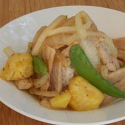 Pork & Pineapple Stir-Fry