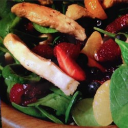 Lime-Berry Chicken Salad Recipe