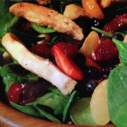 Warm and Limey Chicken Salad Recipe