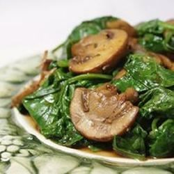 spinach robin s quinoa with mushrooms spinach mushroom quinoa quinoa ...