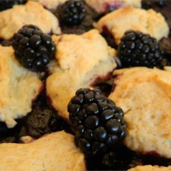 Rustic Blackberry Cobbler Recipe