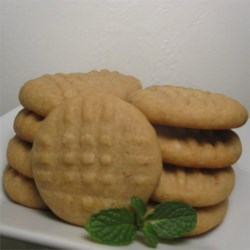 Make Ahead Peanut Butter Cookies