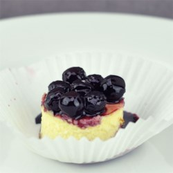 Mini Cherry Cheesecakes Recipe