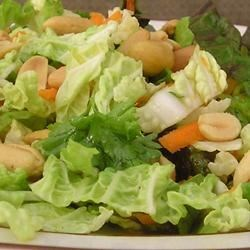Napa Cabbage Salad with Lemon-Pistachio Vinaigrette Recipe