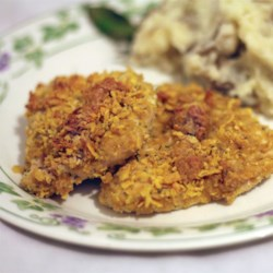 Breaded Parmesan Ranch Chicken Recipe