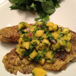 Curried Tilapia with Mango Salsa Recipe