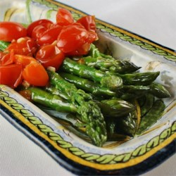 Asparagus with Tomatoes Recipe