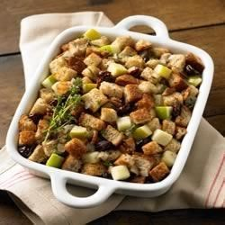 Whole Grain Apple and Herb Stuffing Recipe