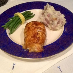 Chesapeake Bay Stuffed Rockfish Recipe
