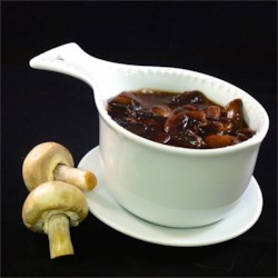 Bordelaise Sauce with Mushrooms Recipe