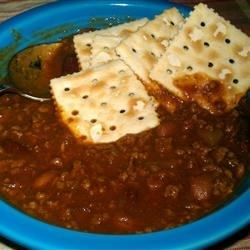Quick Chili II Recipe