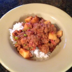 Keema Aloo (Ground Beef and Potatoes) Recipe