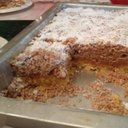 Outrageously Buttery Crumb Cake Recipe