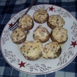Jalapeno Popper Mushrooms Recipe