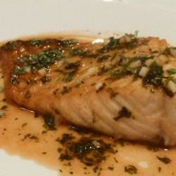 Fast Salmon with a Ginger Glaze Recipe