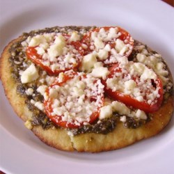 Pesto Pita Pizza Recipe