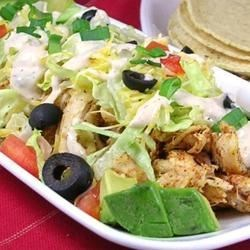 Ranch Chicken Tacos