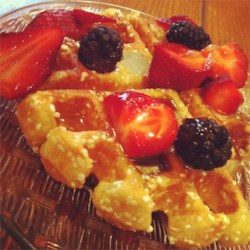 Liege Belgian Waffles with Pearl Sugar Recipe