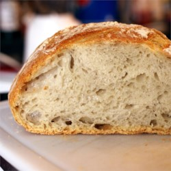 No-Knead Artisan Style Bread Recipe