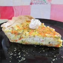 Nana's Zucchini Quiche Recipe