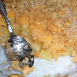 Tricia's Pineapple Cheese Casserole Recipe