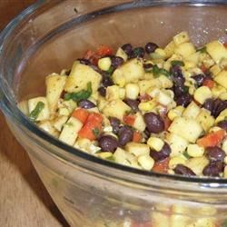 Mango Black Bean Salad Recipe