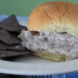 White Sloppy Joes Recipe