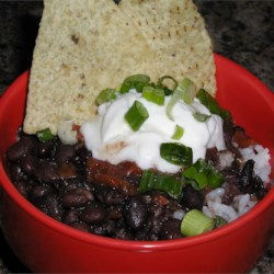 Quick Black Bean Soup Recipe