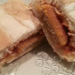 Photo of Easy Chicken Parmesan Sandwich by Me