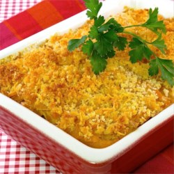 Scalloped Sweet Potatoes Au Gratin