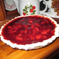 Mona's Fresh Strawberry Pie Recipe