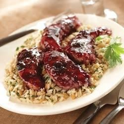 Photo of Chicken Saute with Triple Berry Glaze by Smucker's® Orchard's Finest™