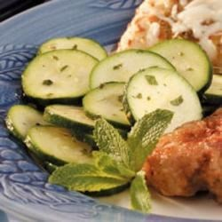 Photo of Minted Zucchini Salad by Carol  Anderson