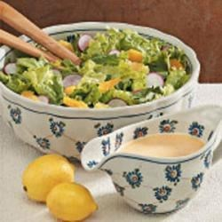 Photo of Tossed Salad with Citrus Dressing by Mary Jane  Ruther