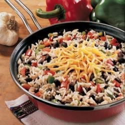 Photo of Black Beans and Rice by Bonnie  Baumgardner