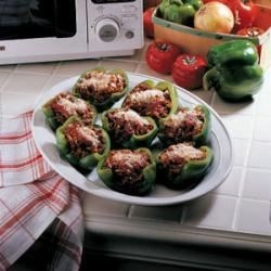 Photo of Stuffed Green Pepper Cups by Merrill  Powers