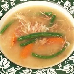 Aunt Wanda's Turkey Carcass Soup Recipe