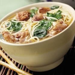Asian Chicken Noodle Bowl Recipe