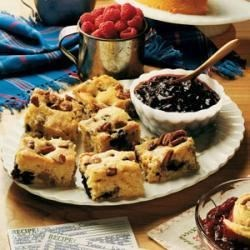 Photo of Blueberry-Sausage Breakfast Cake by Peggy Frazier