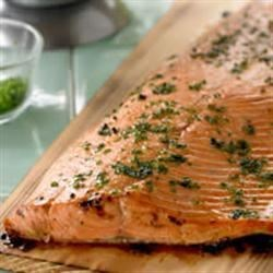 Cedar Planked Salmon Recipe