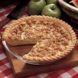 sour cream apple pie printer friendly