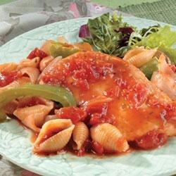 Photo of Chicken Cacciatore and Pasta by Swanson®