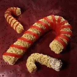 Photo of Kellogg's® Rice Krispies Treats® Candy Canes by Kellogg's® Rice Krispies®