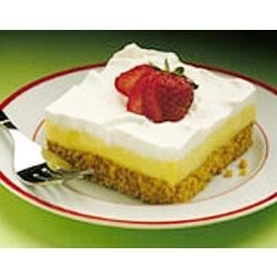 Frozen Lemon Squares Recipe