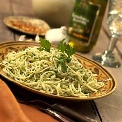 Spaghetti in Olive Oil and Garlic