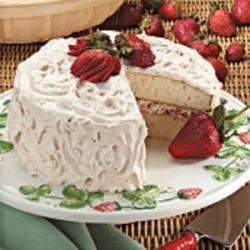 Photo of Fruit-Filled White Cake by Sally  Beardsworth