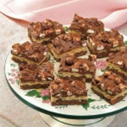 Photo of Chocolate Maple Bars by Cathy  Schumacher