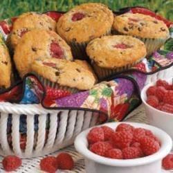 Photo of Raspberry Chocolate Chip Muffins by Carol  Schwammel