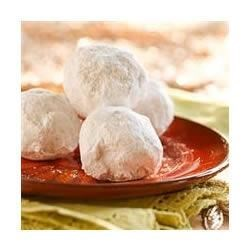 Mexican Wedding Cookies (Polvorones)