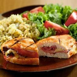 Photo of BBQ Chicken Cordon Bleu by Heinz